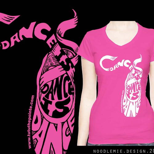 Dance T-shirt concept