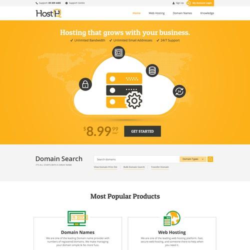 HostHQ Website