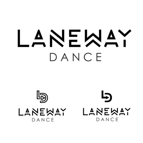 Create a logo for a Melbourne Laneway inspired dance studio