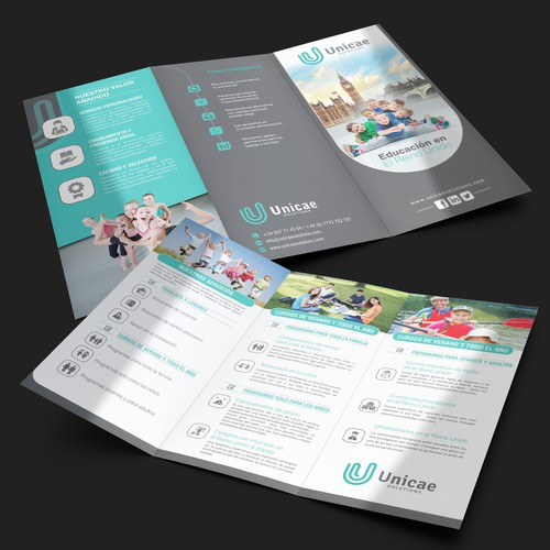 Brochure for Unicae Solutions