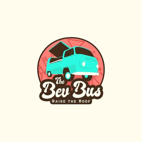 A bar on a bus