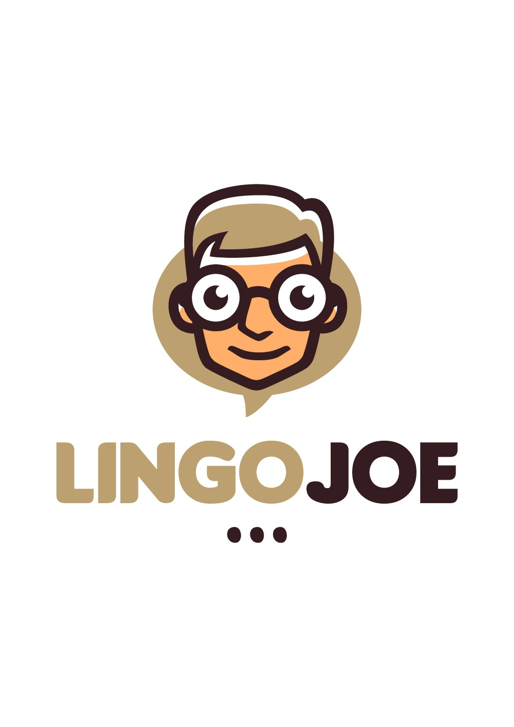 Logo design for a language learning web site