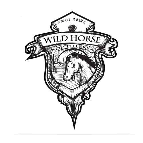 LOGO FOR WILD HORSE DISTILLERY