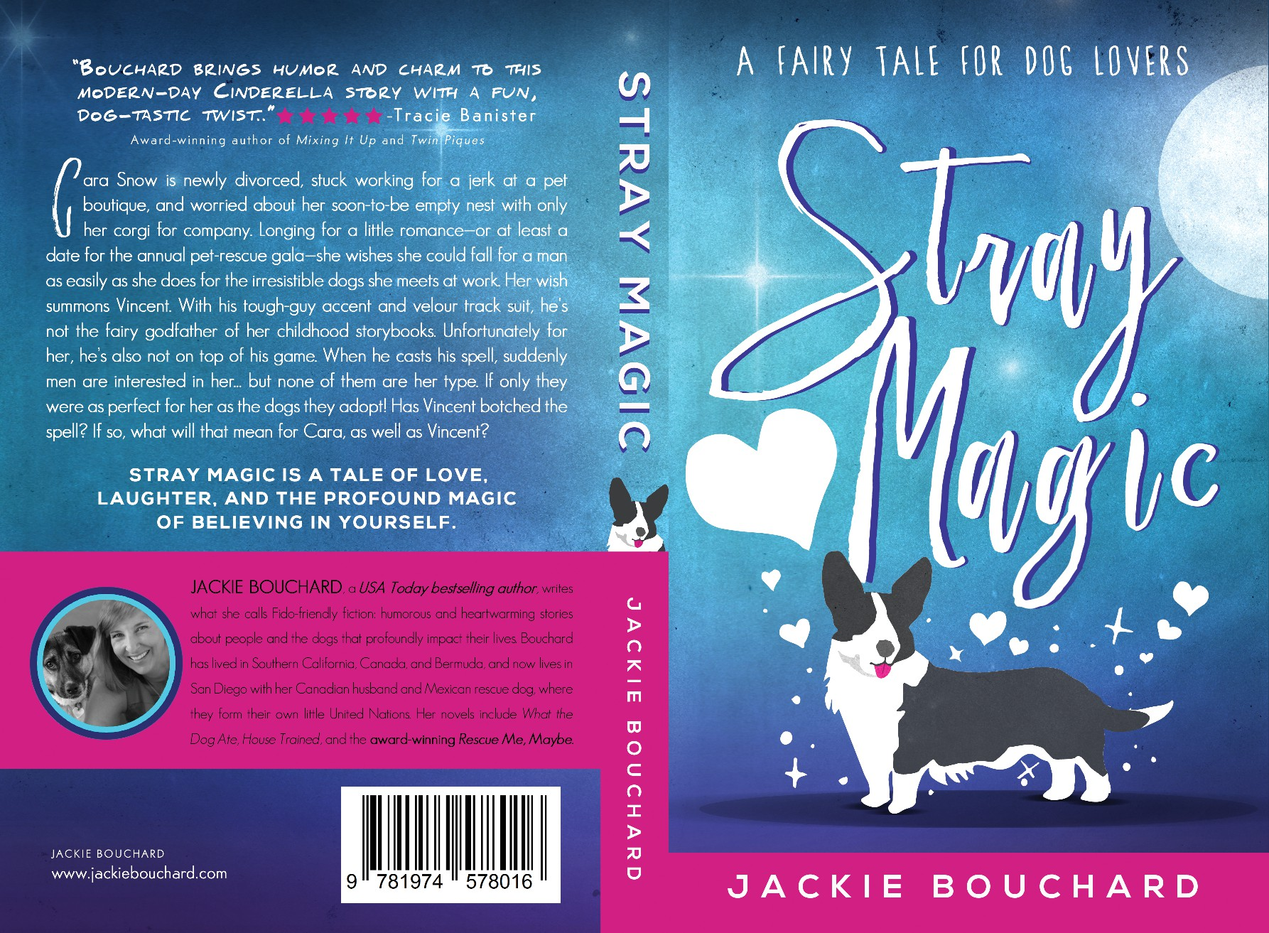 Create fun book cover for a USA Today best-selling author