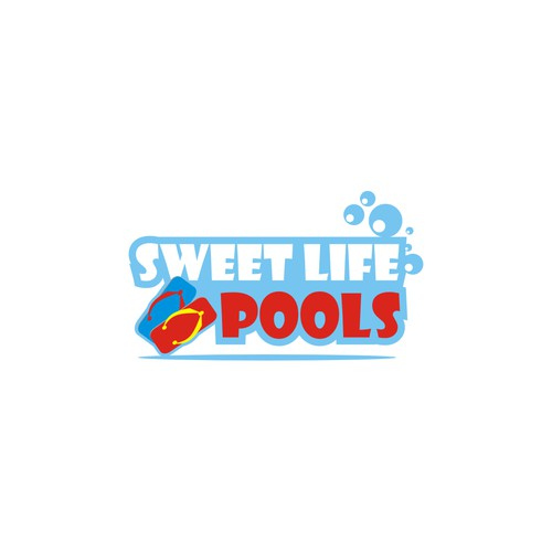 "Looking for a logo of the ""Sweet Life"" with a relaxing tropical feel"