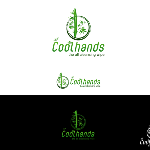 Ultimate bamboo wipe (with brandname Coolhands) needs an ultimate logo ... !
