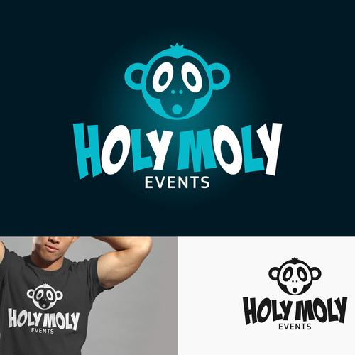 Holy Moly Logo Design