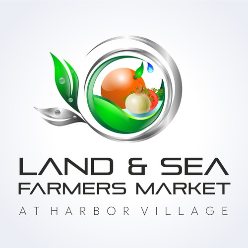 Create the next logo for Land & Sea Farmers Market at Harbor Village