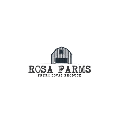 Logo concept for Rosa Farms