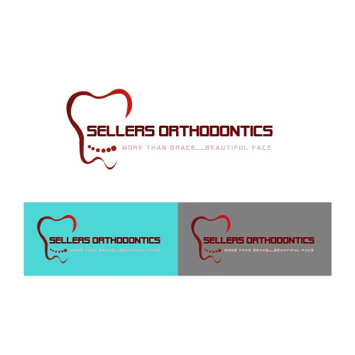 Create a fun, edgy logo for an orthodontic practice
