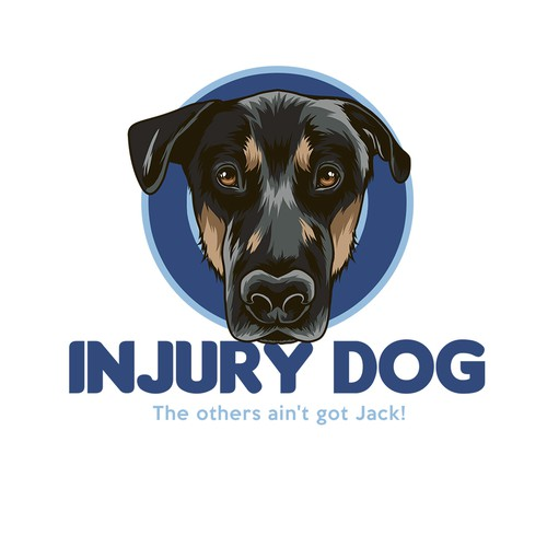 Injury Dog Logo