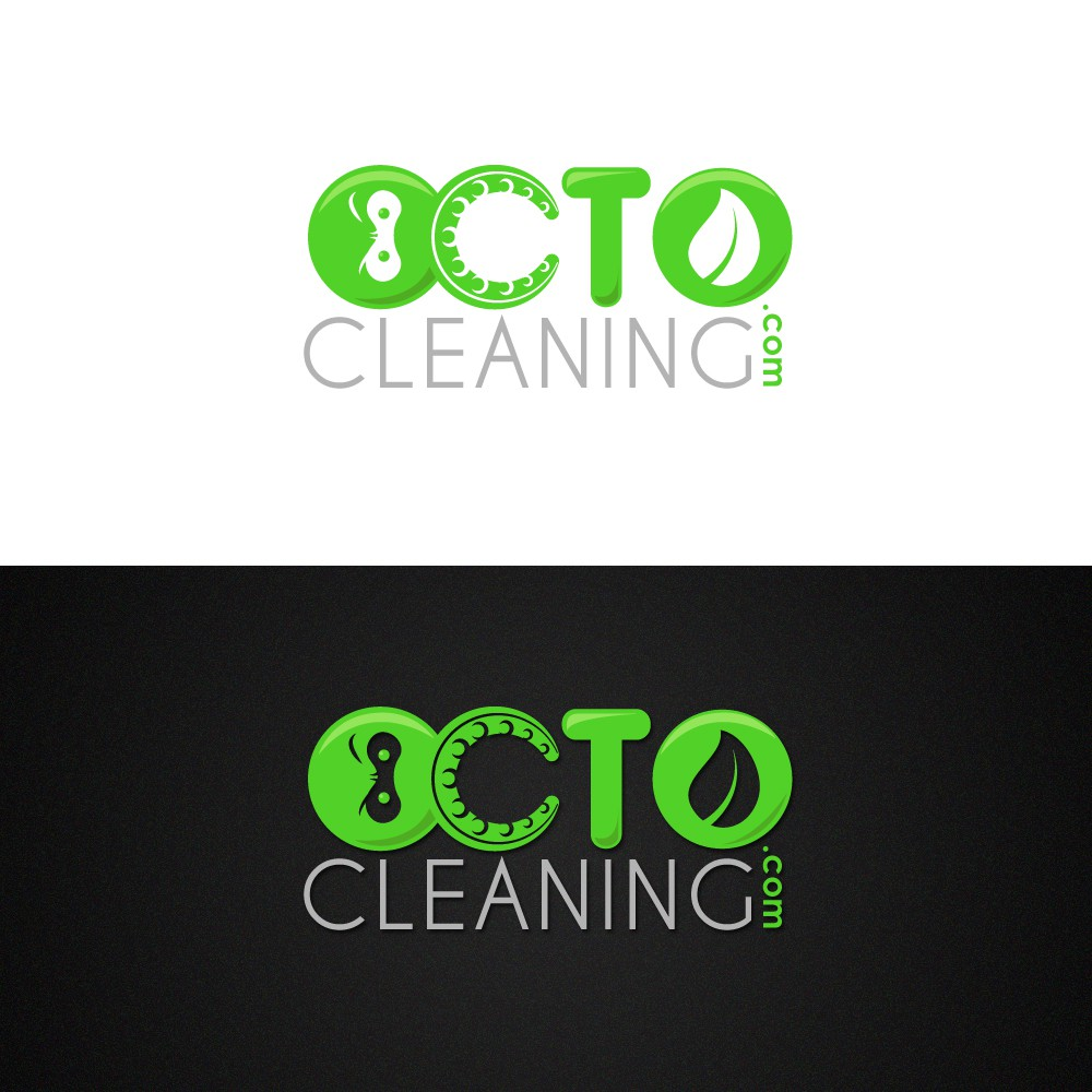 Help OcTo Cleaning.com with a new logo