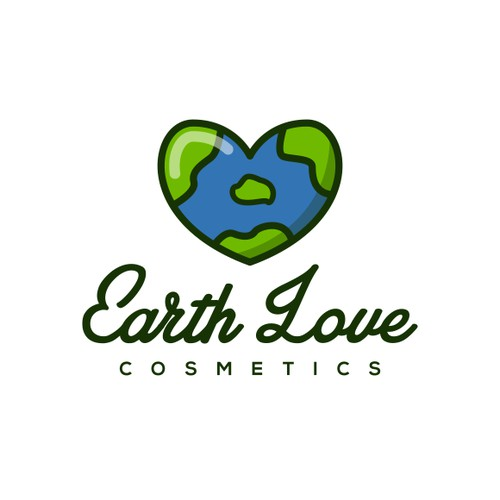 Logo design for Earth Love Cosmetics