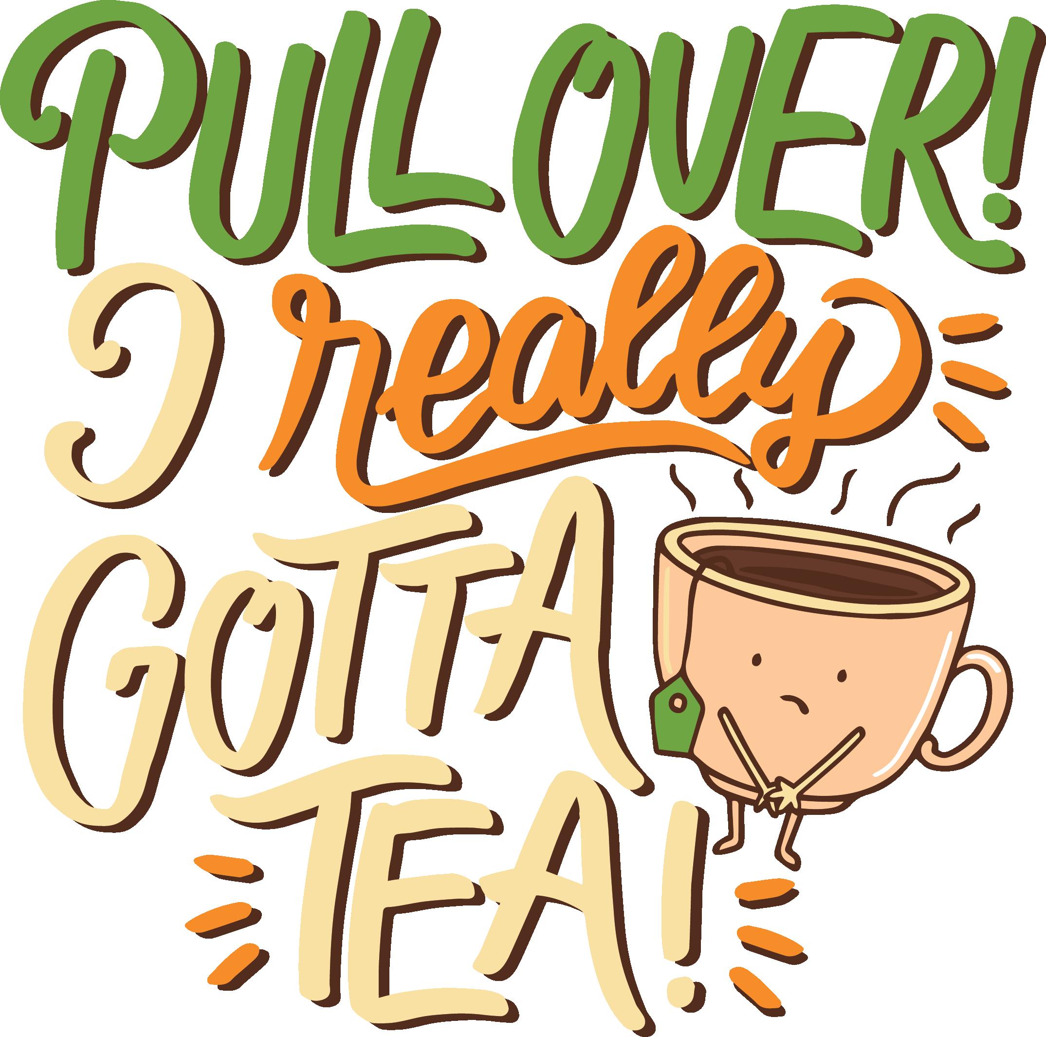 Tea Attitudes - T-Shirt I - Pull Over