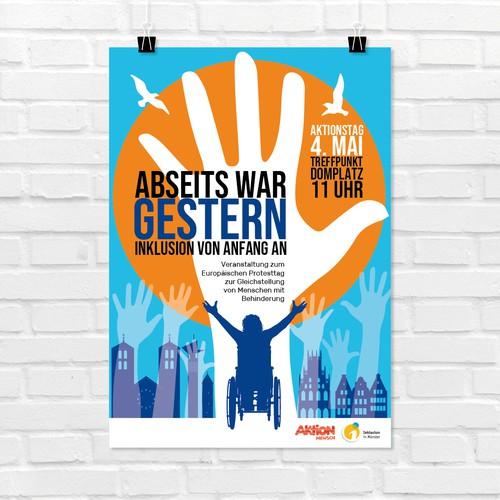 Poster Inklusion (Münster)
