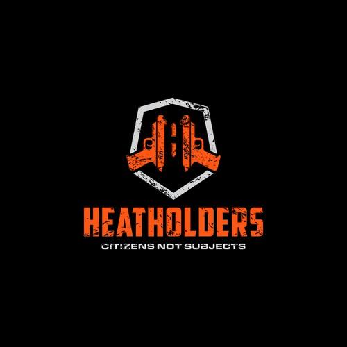 Letter H Pistol Logo