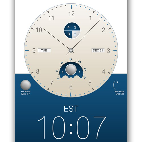 Time zone clock app