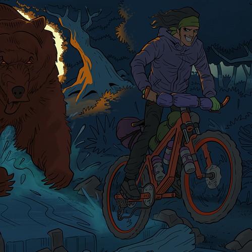 Biker Illustration