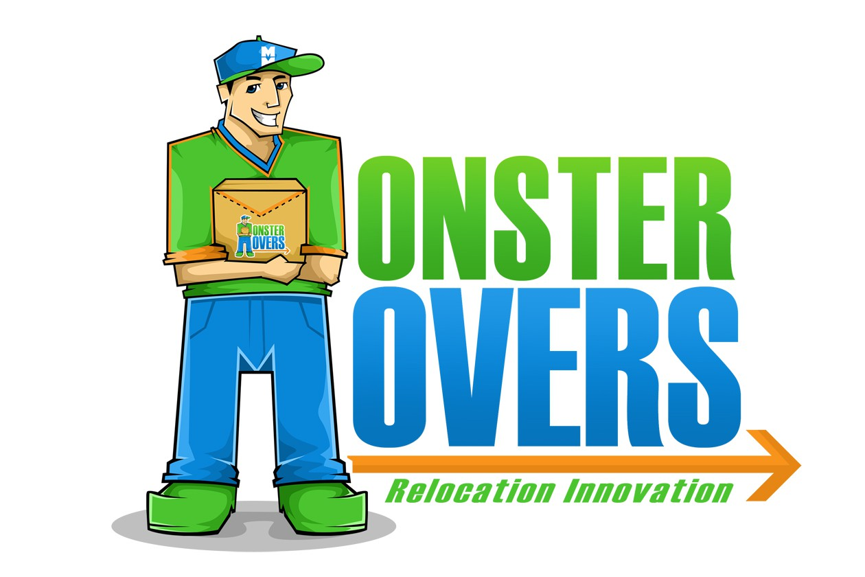 Create the next logo for Monster movers