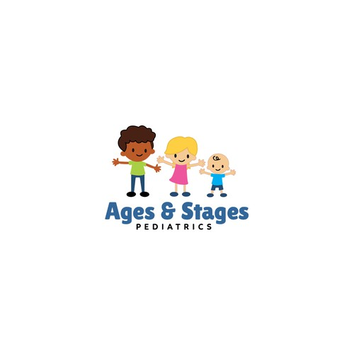 Ages & Stages Logo Design