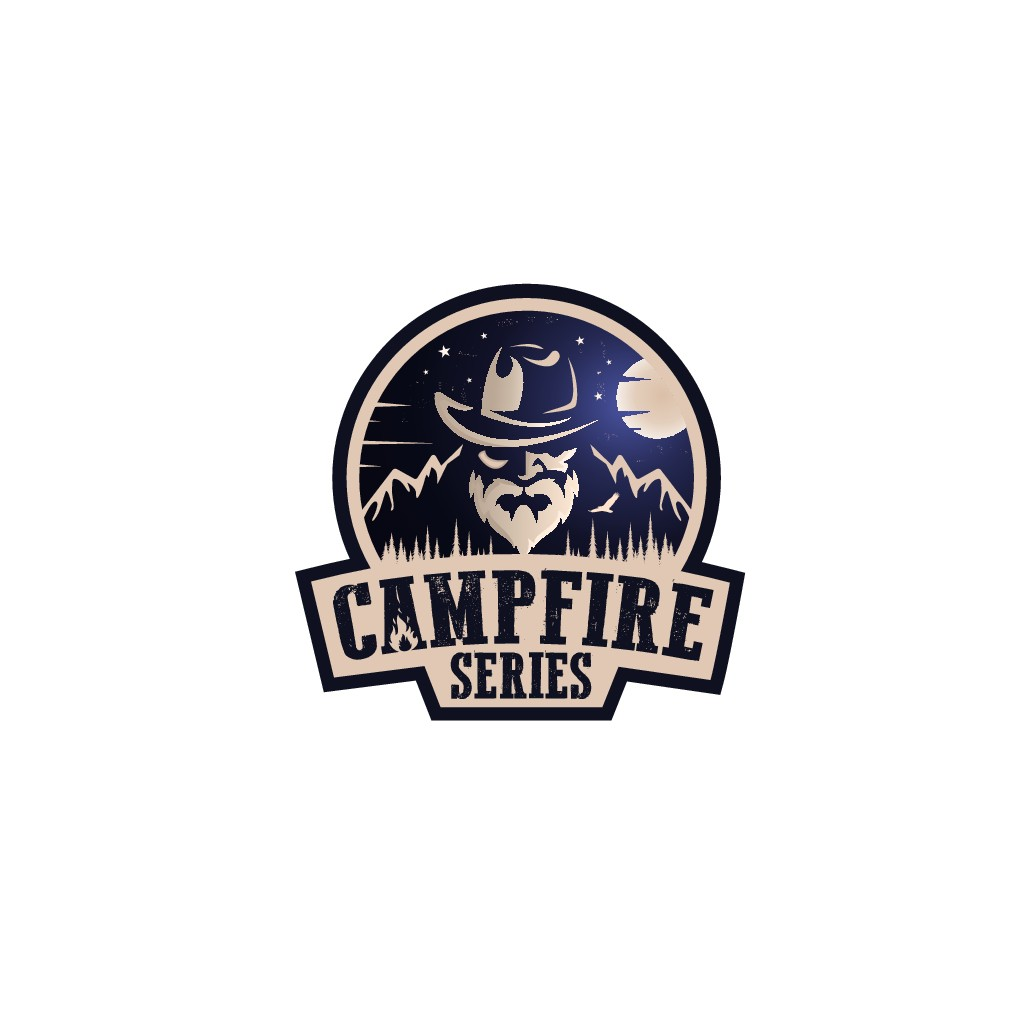 Campfire Series needs a logo that tells a story and makes you want to share yours.