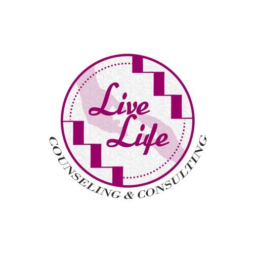 Live Life Logo Design
