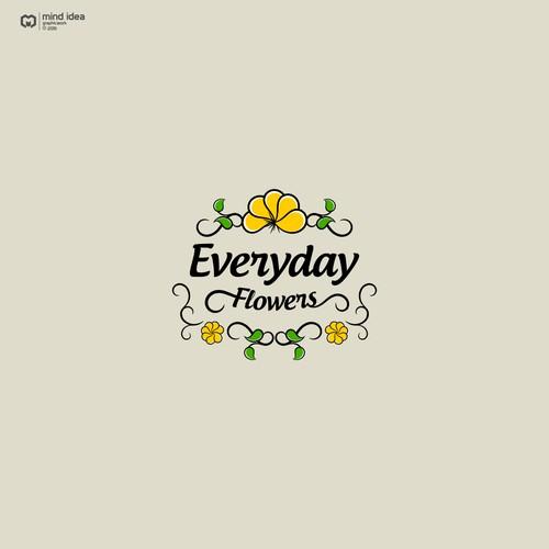 Logo design for Everyday Flowers