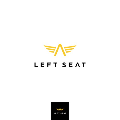 Bold logo concept for Left Seat Company