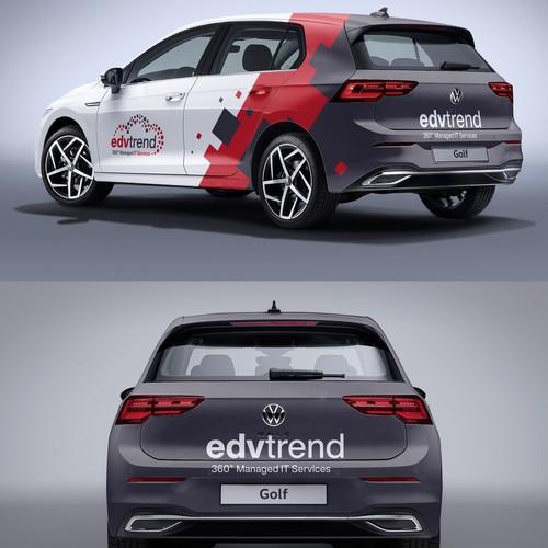Edvtrend Car wrap