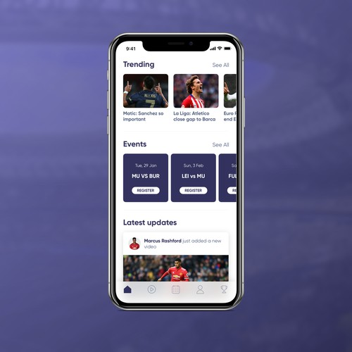 Football Player App