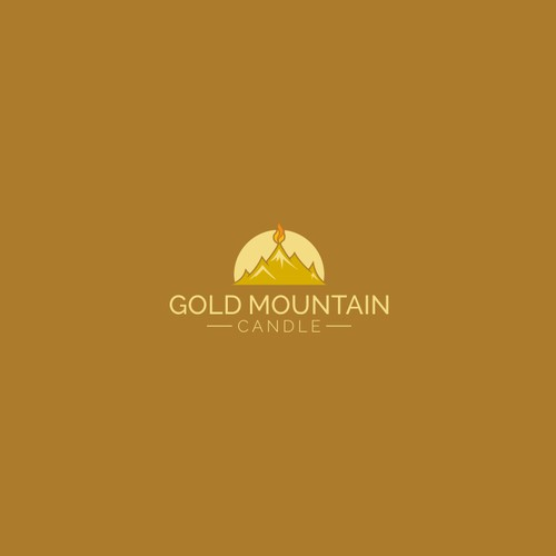 Gold Mountain Candle