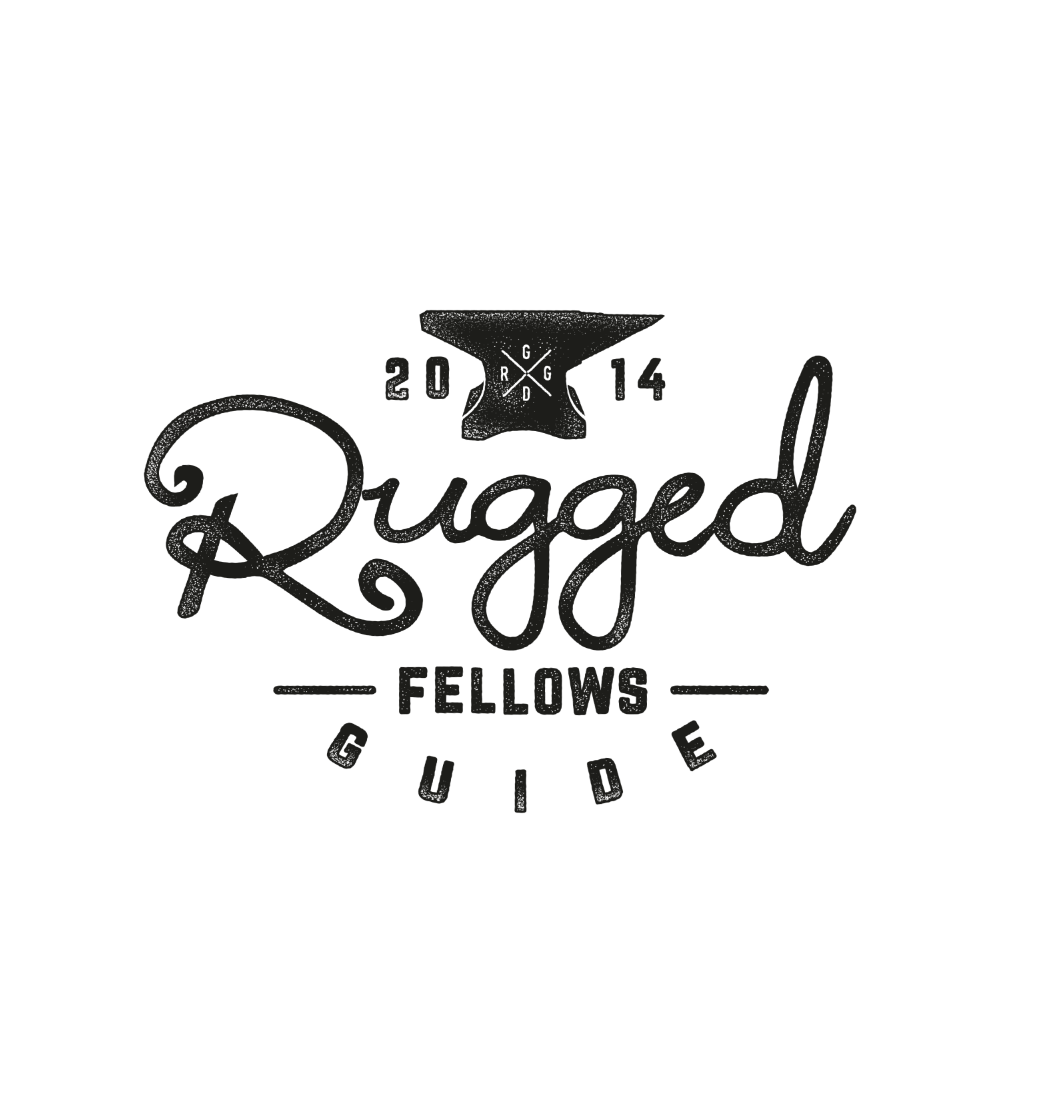 A manly, rugged, and tough logo with a touch of refined vintage elegance and class