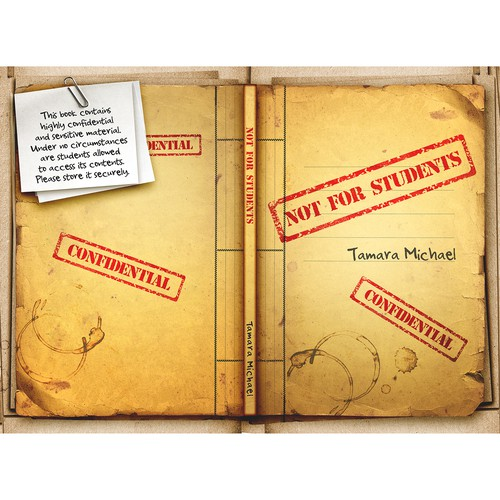 'Not for Students' book cover