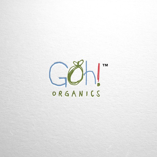 Organic logo for baby food brand