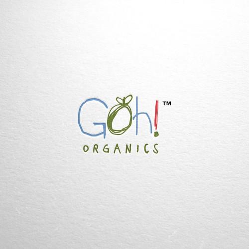 Organic logo for baby food brand