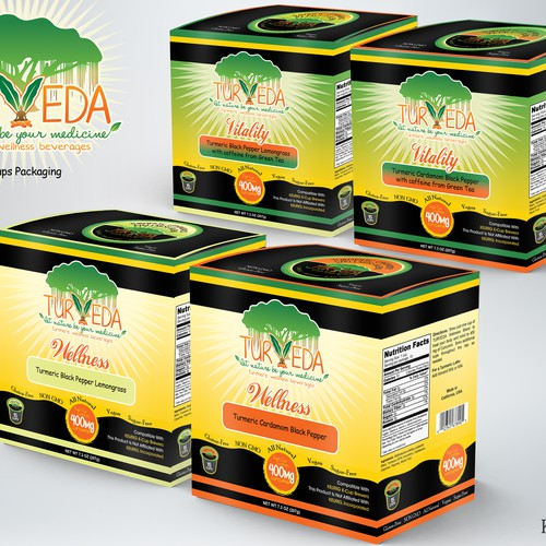 K-cup Tea packaging