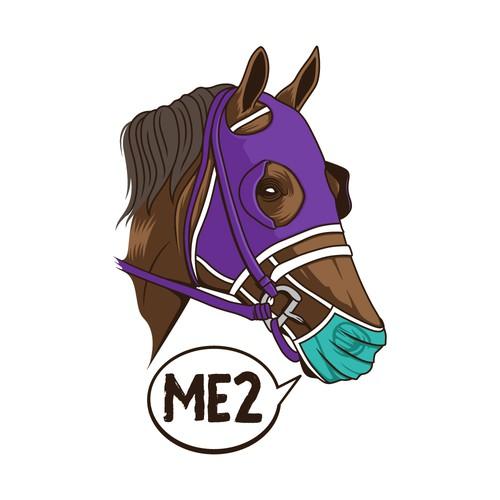 Horse T-shirt Design Concept
