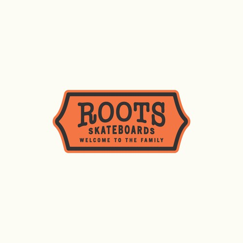 Roots Skateboards Logo Design
