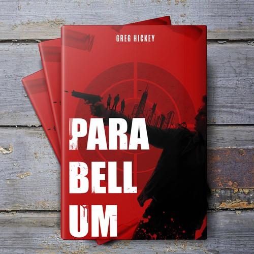 Crime thriller book design for Paranellum