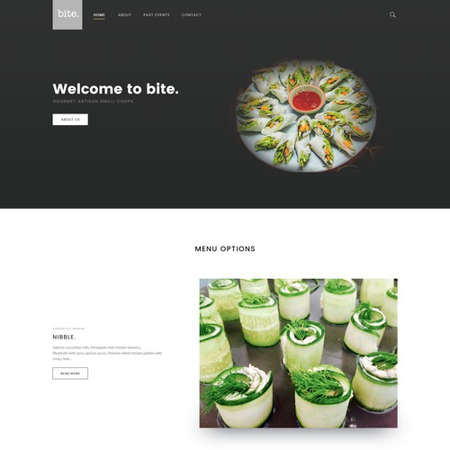 Clean Resto Web Design