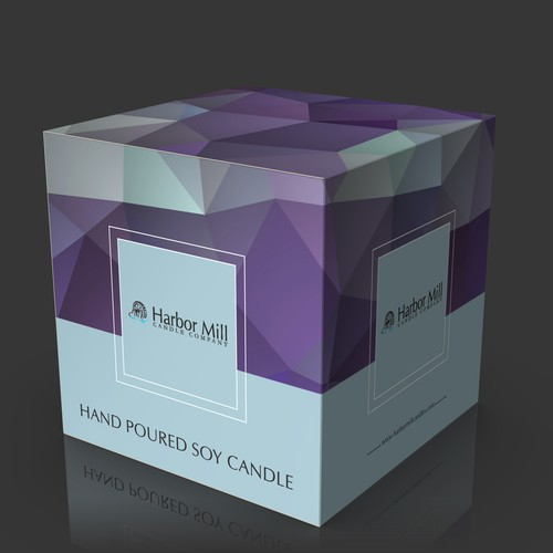 Product Packaging Design for Established Candle Company