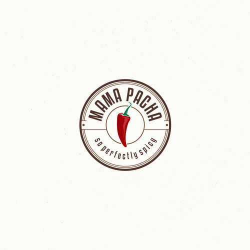 Logo for a spice producer