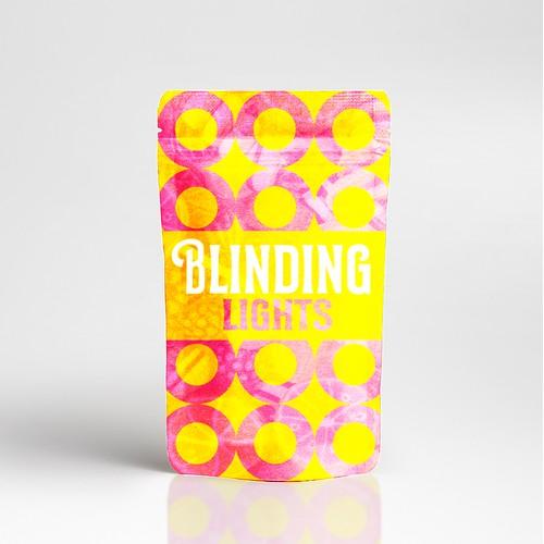Blinding Lights Package Design