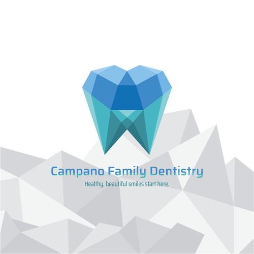 Logo for Campano Family Dentistry