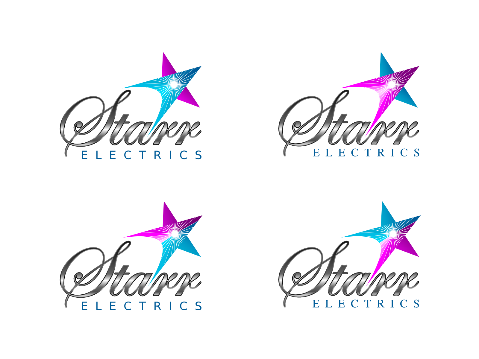 Help Starr Electrics with a new logo