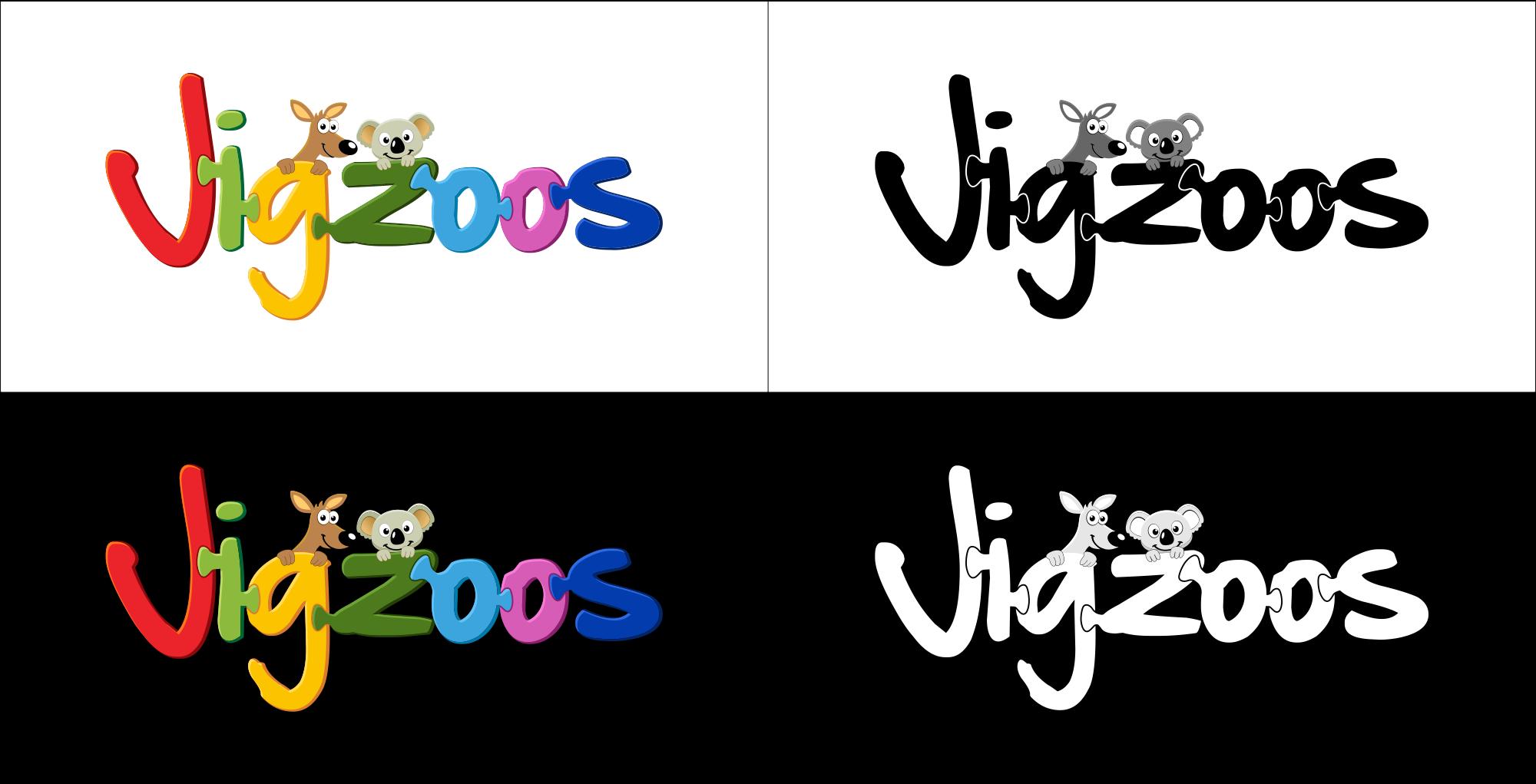 logo for Jigzoos Australia