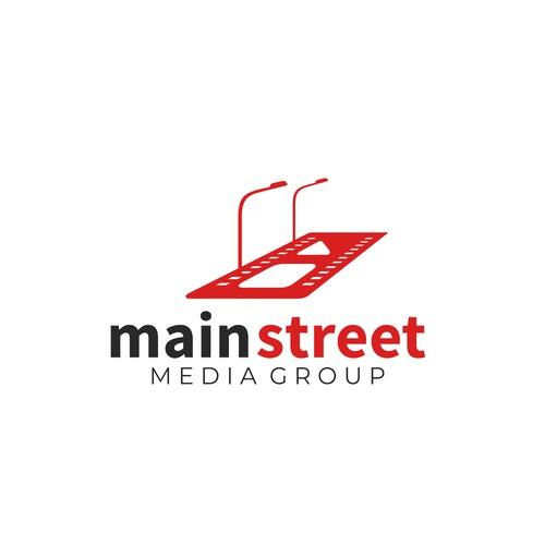 Main Street Logo for Media Group