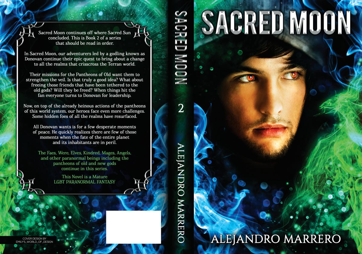 ebook and print - Sacred Moon