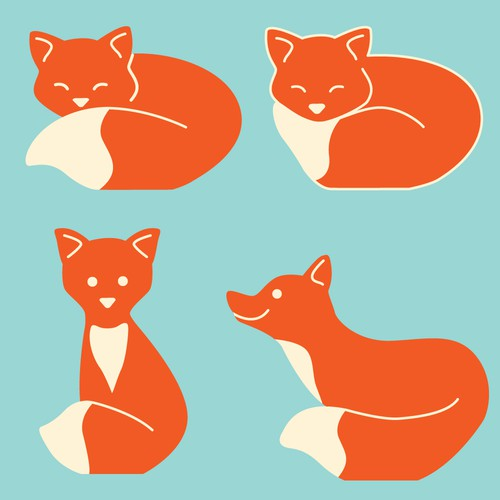 Design of animals for children's tables