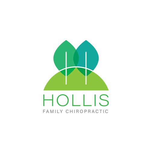 Logo for family chiropractic in a farm/orchard community